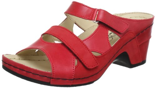 Florett 3561, Mules femme Rouge (Rot 01)