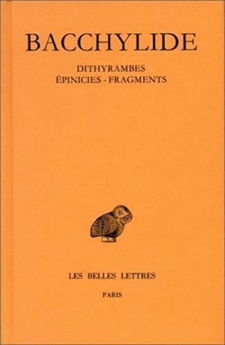 DITHYRAMBES.EPINICIES.FRAG.
