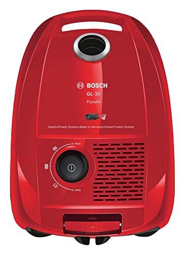 Bosch BGL3A331 Aspirador Con Bolsa 600 W, 4 litros, 75 Decibeles, Rojo
