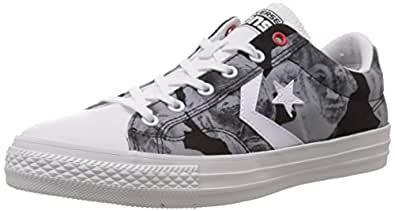 Converse International Unisex Grey Canvas Sneakers - 11 UK