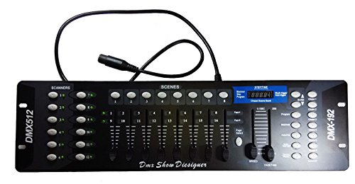 Techyshop DMX512 Professional Concert Showlightning Controller DMX192 Lighting Control Set