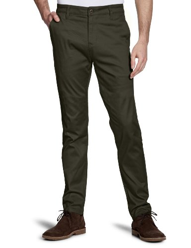 Emerica Herren Pant Hsu Carlin Chino charcoal