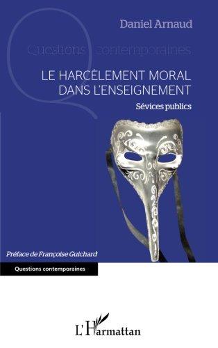 Le harcèlement moral dans l'enseignement