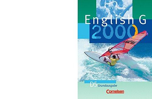 English G 2000. Ausgabe D 5. Schülerbuch. Grundausgabe,