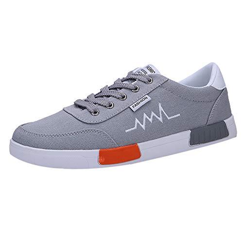 BBestseller-Zapatos Zapatillas de Running para Hombre, lona zapatos de deporte de los hombres Zapatos Deportivas Fitness Casual Sneakers invierno