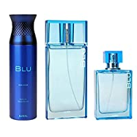Ajmal Blu Gift Set by Ajmal, 90 ml