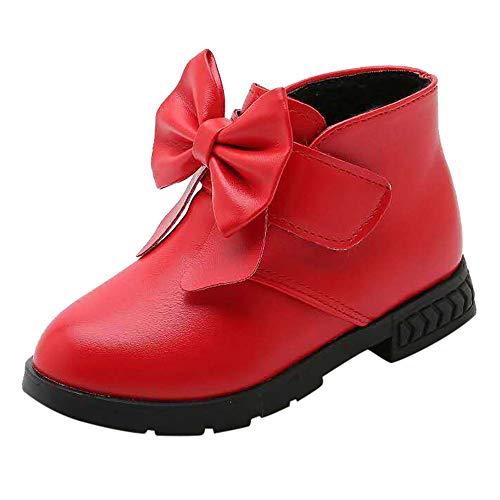Darringls Zapatillas para Bebés Zapatos de Bebé Zapatillas de Deporte niños niños niñas bebé Bowknot...