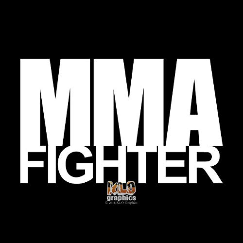 SUPERSTICKI MMA Fighter Mixed Martial Arts 15cm Aufkleber,Autoaufkleber,Sticker,Decal,Wandtattoo, aus Hochleistungsfolie,UV&waschanlagenfest, -