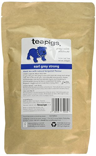 A photograph of Teapigs earl grey strong