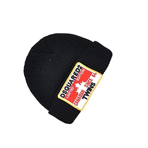 HIDENFAFR Kanada Maple Leaf Hat Cotton-Vati-Hut Baseballmütze 3D gestickter Unisex Stil,Black2,OneSize -