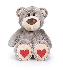 Famosa Softies - Oso de peluche de 54 cm Bear Love San Valentín, color marrón (Famosa 760017229)