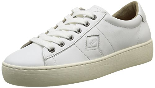 PLDM by Palladium Loma Cash, Baskets Basses Femme Blanc (420 White)