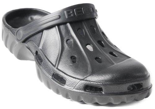 BECO Clog E.V.A. - Herren Sandale Gartenclogs Badeschuhe Clogs schwarz Gr. 41