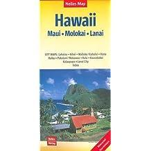 Nelles Map Landkarte Hawaii : Maui, Molokai, Lanai: 1:150.000   reiß- und wasserfest; waterproof and tear-resistant; indéchirable et imperméable; irrompible & impermeable