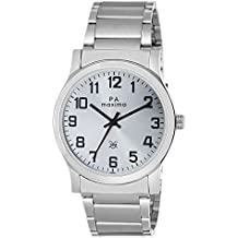 Maxima Attivo Analog White Dial Men's Watch - 20894CMGI
