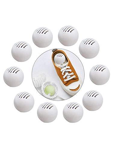 Ritapreaty Geruchseliminatoren, Desodorierende Kugeln, 10 Stück Sneaker Balls Schuhe, Deodorant - Aromatischer Geruchseliminator, Kampf für Schuhe, Auto, Schließfächer -