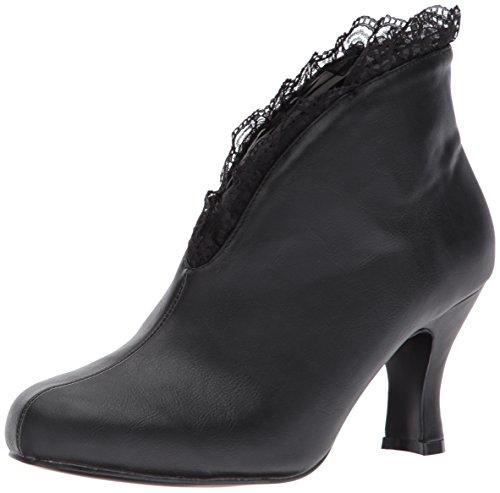 Pleaser Damen Jenna-105 Pferdeschuhe Black (Blk Faux Leather-Lace)