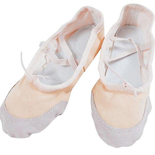 Beige Ragazza Piatto Stile Danza Tela Classica Overdose Ballerine Donna Classico Comodità vPnCCwTq