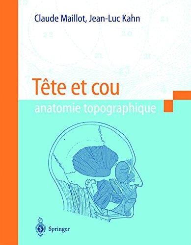 Tête et cou : Anatomie topographique