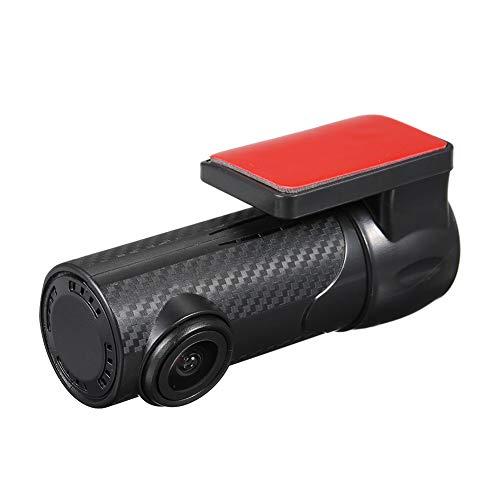 Dvr Vcr (HD-Autokamera 1080P DVR-Armaturenbrett WDR-Kamera VCR-Kameras im Fahrzeug 170 ° Betrachtungswinkel LCD-Monitor Verdeckte Panorama-Auto-Nachtsicht S700)