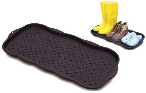 Praktische Mehrzweckablage mit erhöhtem Rand für Schuhe, Blumentöpfe, Fressnapf und vieles mehr