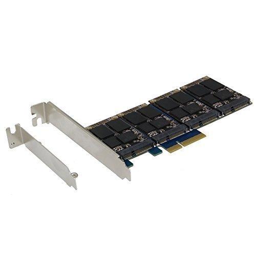 SEDNA - PCIe 4X - Controller card Quad mSATA SSD RAID (RAID 0/1/10) Marvell HyperDuo Technology (SSD non incluso)