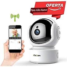 Cámara de Vigilancia KinCam Cámara de Seguridad Inalámbrica 1080P Cámara IP de Vigilancia Doméstica WiFi para