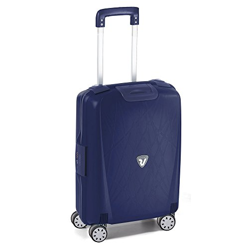 Roncato Light Trolley 4 Ruote Ultraleggero Made in Italy misura Cabina Navy