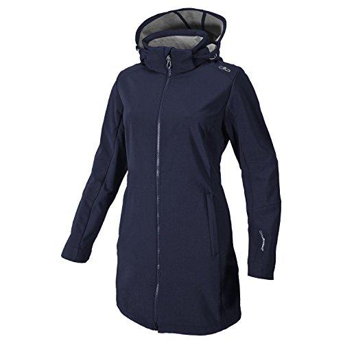 Softshell Outdoor Mantel CMP für Damen Sondermodell Ancelunasa 858P Gr-36