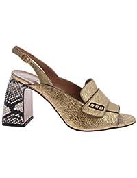 L Autre Chose Scarpe con Tacco Donna LDG10570CP2746G Pelle Oro 503d90c4a4e