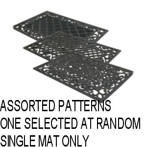 Rubber Mat 40cm x 60cm Assorted Designs