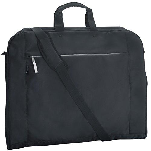 Alpamayo® Anzugtasche, Business Kleidertasche für Anzüge und Hemden auf Reise, für den Transport im Handgepäck, Koffer oder Trolley, schwarz