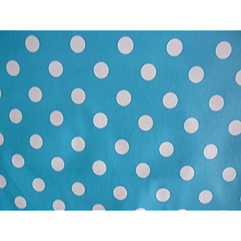 Sky Blue Spot materiale in pvc, Tela cerata per tavoli
