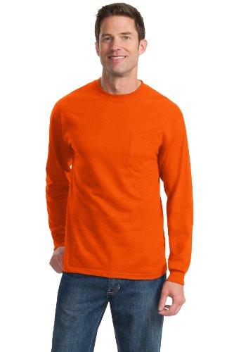 Port & Company -  T-shirt - Uomo Arancione