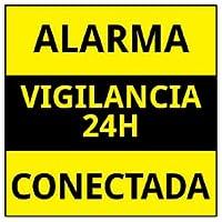 Amazon.es: cartel de alarma - Sistemas de seguridad para el ...