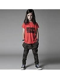 ESHOO Baby Boys Casual Hiphop Harem Pantalón Slacks pantalones