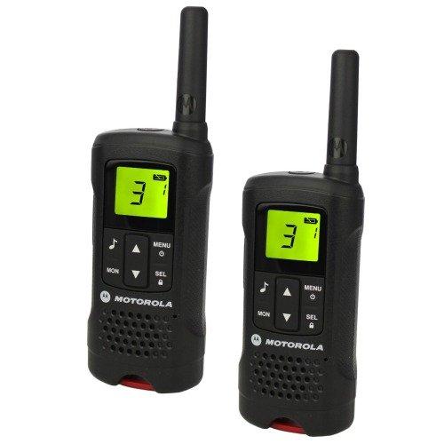 Preisvergleich Produktbild Motorola PMR Twinpack TLKR T61 schwarz P14MAA03A2BE Handfunkgerät Set