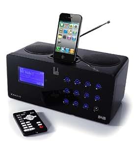 Roth Audio DAB / FM / Internet Radio with iPod / iPhone Dock - Black