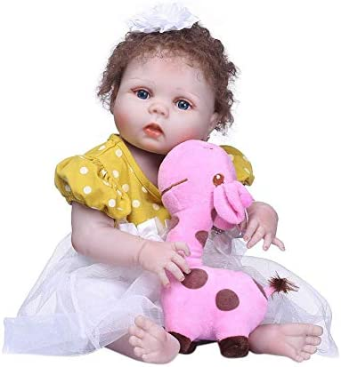 Demiawaking Poupée Reborn Bébé Garçon Fille Vinyle Souple Dolls en Silicone Bain Jouet Réaliste Baby Dolls Souple Nouveau-né des VêteHommes ts Cadeau   NPK 56cm Simulation Mignonne B07KT6YW4W 6d62be
