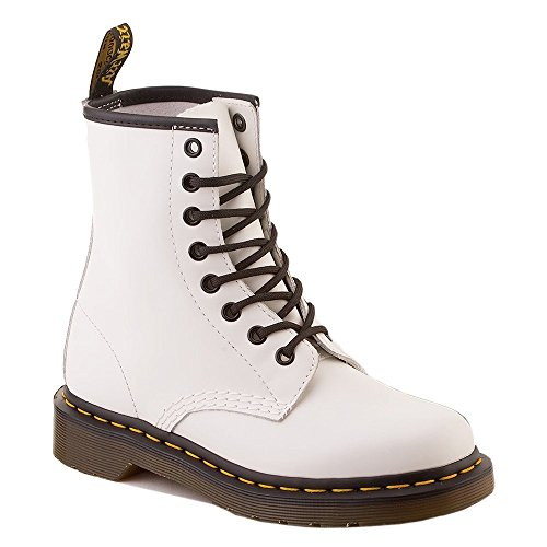 Dr. Martens 1460 White Smooth 10072100, Botas - 40 EU