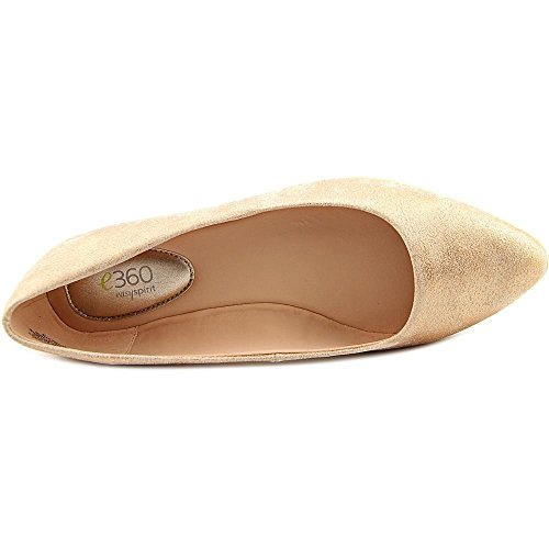 Easy Spirit e360 Madella Cuir Chaussure Plate Light Coppey