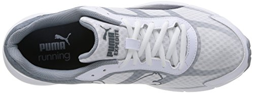 Puma Expedite, Chaussures de sports extérieurs homme Blanc (White/Gy/Red)