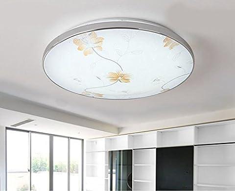 Jingzou Moderne minimaliste LED plafond chambre salon rond balcon terrasse atmosphère chambres fixtures 50CM 36W