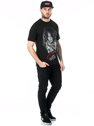 Sullen - Herren The Machine T-Shirt Schwarz