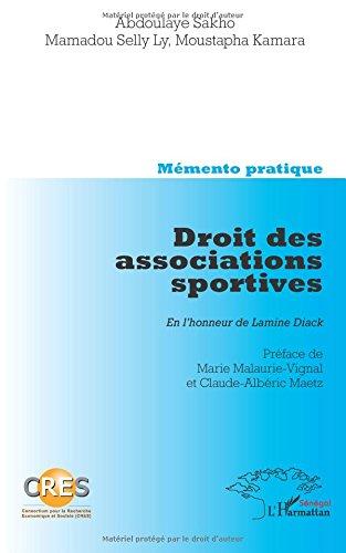 Droit des Associations Sportives en l'Honneur de Lamine Diack