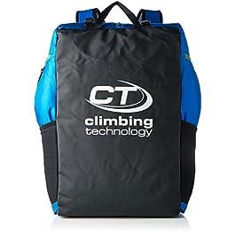 Climbing Technology Falesia Zaino Porta Corda, 45 Litri, Nero / Azzurro