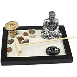 Tablero Zen Garden Buddha Rock Rake Arena decoración del hogar regalo
