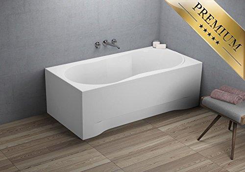 Exclusive Line® DESIGN Rechteck Badewanne, Acryl, 170x70cm
