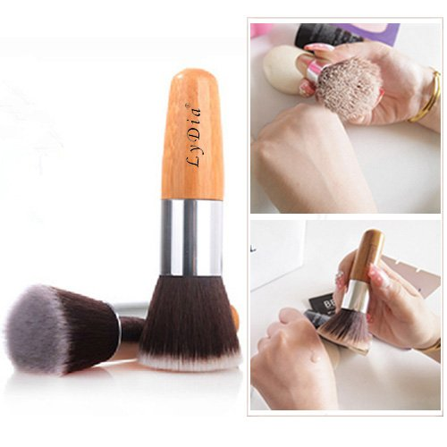 lydiar-uk-stock-flat-top-buffer-bamboo-wooden-liquid-foundation-powder-bronzer-makeup-brush