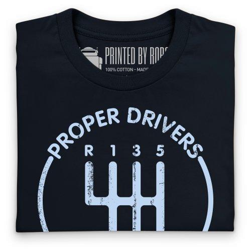 evo Proper Drivers T-shirt, Uomo Nero